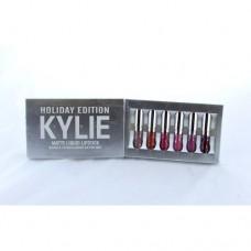 Набор жидких матовых помад Kylie Holiday Edition 6 шт