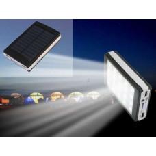Solar Power Bank 32000mAh + LED панель Портативное зарядное от Солнца