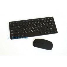 Русская беспроводная мини клавиатура + мышка W03