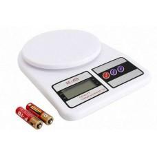 Весы кухонные SF-400 до 10 кг (1 грамм) Электронные + Батарейки