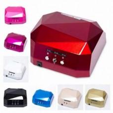 УФ лампа для наращивания ногтей на 36 Вт Beauty nail CCF + Led сенсор
