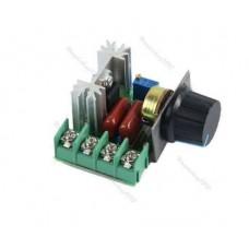 Регулятор мощности напряжения 2кВт 220В 16A,  4кВт 220В 40A в Корпусе
