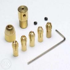 Мини патрон цанговый PCB для мини дрель . 5 цанг.