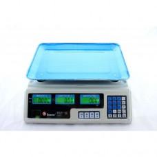 Торговые электронные весы до 50 кг Domotec MS 208 6V