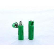 Аккумулятор с USB зарядкой 18650  3,7-4.2в