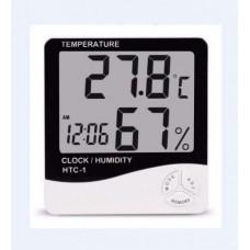 Метеостанция HTC-1. Часы Будильник Гигрометр Термометр