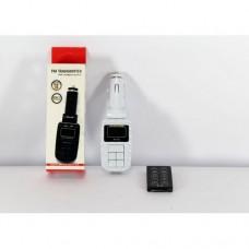 Трансмиттер KD-210, FM модулятор, авто трансмиттер, ФМ с пультом