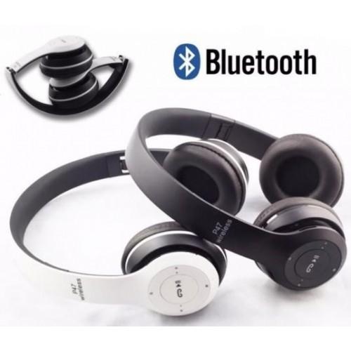 Беспроводные Наушники P-47 Bluetooth + MicroSD + FM Радио eaf80714a9558