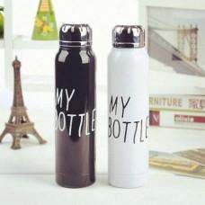 Бутылка Термос My Bottle 9045 300мл Черный, Белый