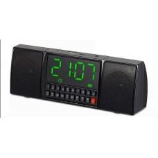 Портативная колонка Часы USB Радио Bluetooth WS-1515 BT