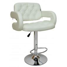 Барний стілець хокер Bonro B-823A білий (40080023)