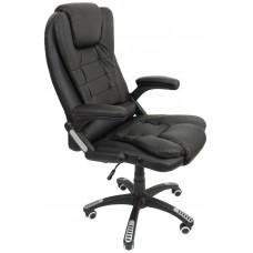 Кресло Bonro O-8025 Black, Brown, Claret