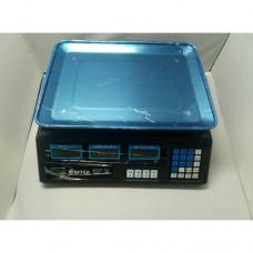 Торговые электронные весы VITEK ACS 208 6V до 50 кг