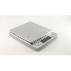 Ювелирные электронные весы с 2мя чашами 0,1- 2000 грам + батарейки
