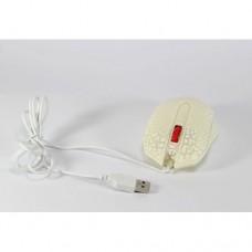 Компьютерная игровая мышь, мышка X10 белая