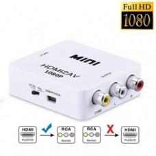 Адаптер HDMI to AV (RCA) (переходник, конвертер, 720p/1080p) переходник, конвертер