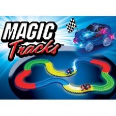 Гоночная трасса, которая светится Magic Tracks 220 деталей меджик Трэк