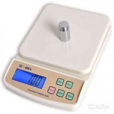 Электронные Кухонные Весы 5 кг SF - 400A + Батарейки с подсветкой