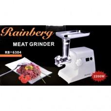 Электромясорубка Rainberg RB-6304 (реверс) 2200W