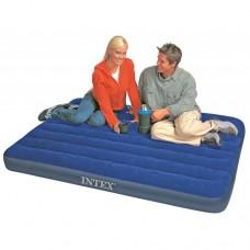 Велюровый двухспальный матрас Intex 68758 191x137x22 см