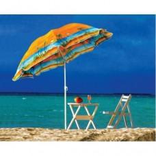 Зонт пляжный с наклоном 2 метра. Ткань с защитой от УФ излучения