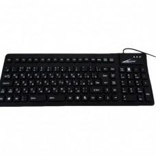 USB клавиатура силиконовая компьютерная KEYBOARD 105C