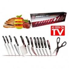 Набор кухонных ножей Mibacle Blade World Class 13 предметов
