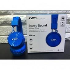 Беспроводные Bluetooth Наушники с MP3 плеером NIA-X3 Радио блютуз