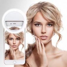 Вспышка-подсветка для телефона селфи-кольцо Selfie Ring Ligh