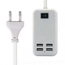 Адаптер блок питания зарядное устройство на 4 USB порта ,usb hub 220v