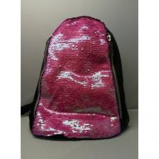 Женский рюкзак с паетками 21Х25 см