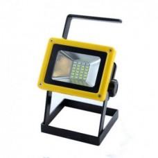 Ручной прожектор с полицейской мигалкой X-Balong 204