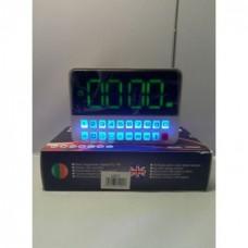 Портативная колонка Часы USB Радио Bluetooth CR562 BT