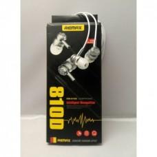 Вакуумные Наушники Remax RM-810D с микрофоном Mega Bass