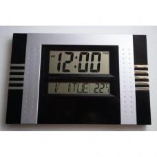 Настольные электронные Led Clock KK 5850 большие Чёрные