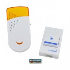 Беспроводной дверной звонок от розетки 220V Luckarm Intelligent A8603 Жёлтый