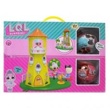 LOL Surprise Домик-Башня для Куколок + 2 Шара LOL (9 см) 5 Серия