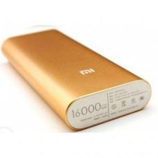 Внешний аккумулятор Power bank XIAOMI 16000 Mah батарея Золотой