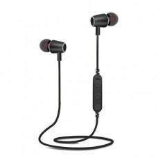 Беспроводные вакуумные Bluetooth Наушники BT-001 Чёрные