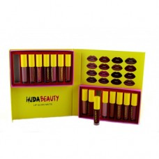 Набор помад Victoria's Secret Huda Beauty 16 оттенков