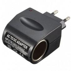 Адаптер переходник с 220В на 12В (на выход от прикуривателя) Switch боковой A10 0.5A