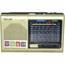 Портативный радиоприёмник MP3 USB Golon RX 6622 Золото