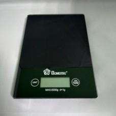 Электронные сенсорные кухонные весы на 5 кг Domotec MS-912 черные