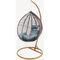 Підвісне крісло-кокон B-183A (біло-голубе, коричневе, коричнево-сіре)
