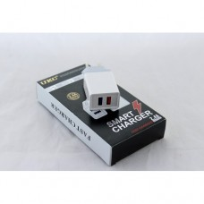 Сетевое зарядное устройство UKC Fast Charge AR 001 c 2 USB портами
