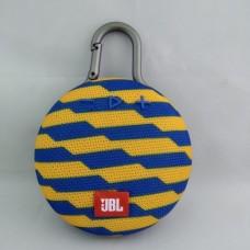 Портативная bluetooth колонка JBL CLIP3 Жёлто-Синяя