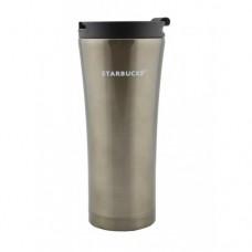 Термокружка Starbucks 500 мл металлическая Серая