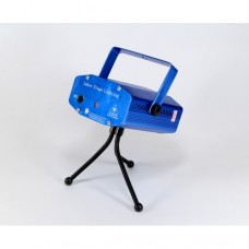 Лазерный проектор Диско LASER HJ09 2in1 Laser Stage с триногой