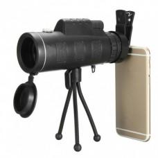 Монокуляр PANDA 40х60 с креплением для телефона и треногой
