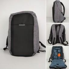 Рюкзак Антивор c защитой от карманников Серый